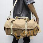 Dollice DR-655S Canvas Camera Bag Shoulder Bag Khaki Twelve compartments pockets