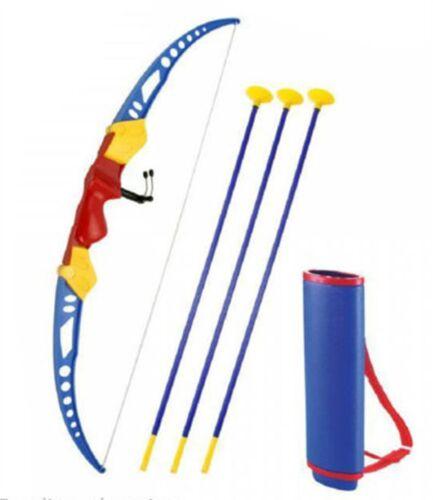 GIARDINO esterni Tiro Con L/'arco Junior Arco Freccia Set Gioco Giocattolo Bambini VENTOSA Target