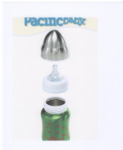 Trinklernflasche Pacific Baby 3-in-One Isolier-Trinkflasche für Kleinkinder