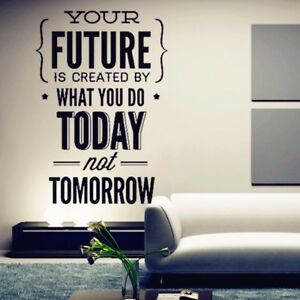 room inspirational quotes wall sticker office wall decor