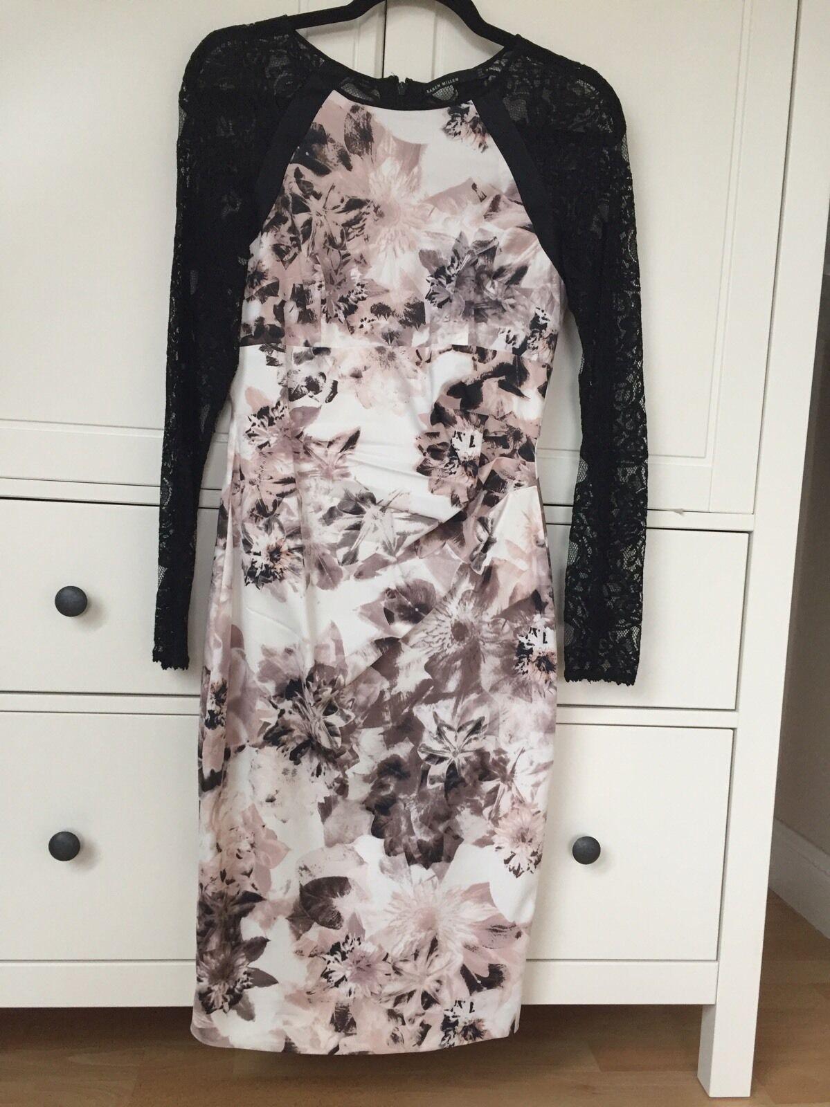 ✨Karen Millen ✨ Designer Kleid Gr  12 (38-40) •Neuwertig •