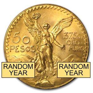 Mexico-Gold-50-Pesos-AGW-1-2057-Random-Year-SKU-158