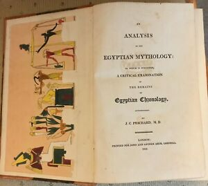 Prichard James Cole An Analysis of the Egyptian Mythology Rare Antiquarian Book