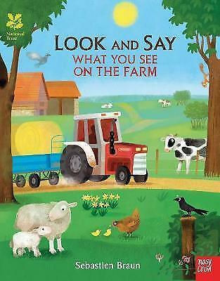 1 of 1 - National Trust: Look and Say What You See on the Farm, Very Good Condition Book,
