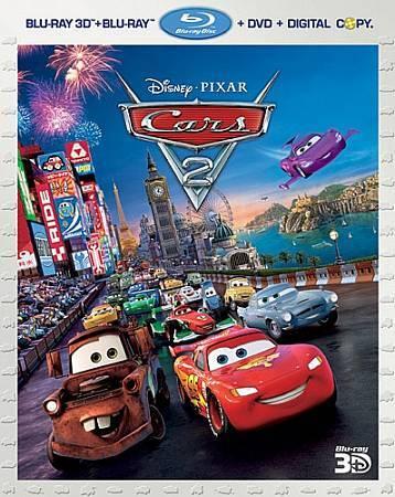 Cars 2 Blu Ray Dvd 2011 5 Disc Set Includes Digital Copy 3d For Sale Online Ebay