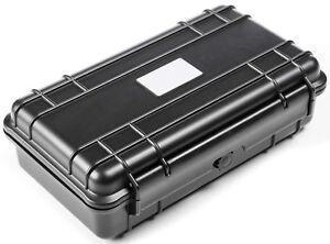 Strahlwasserdichtes Outdoor Kunststoff Koffercase 24x14x7cm Gr. 6 Fotokoffer Box