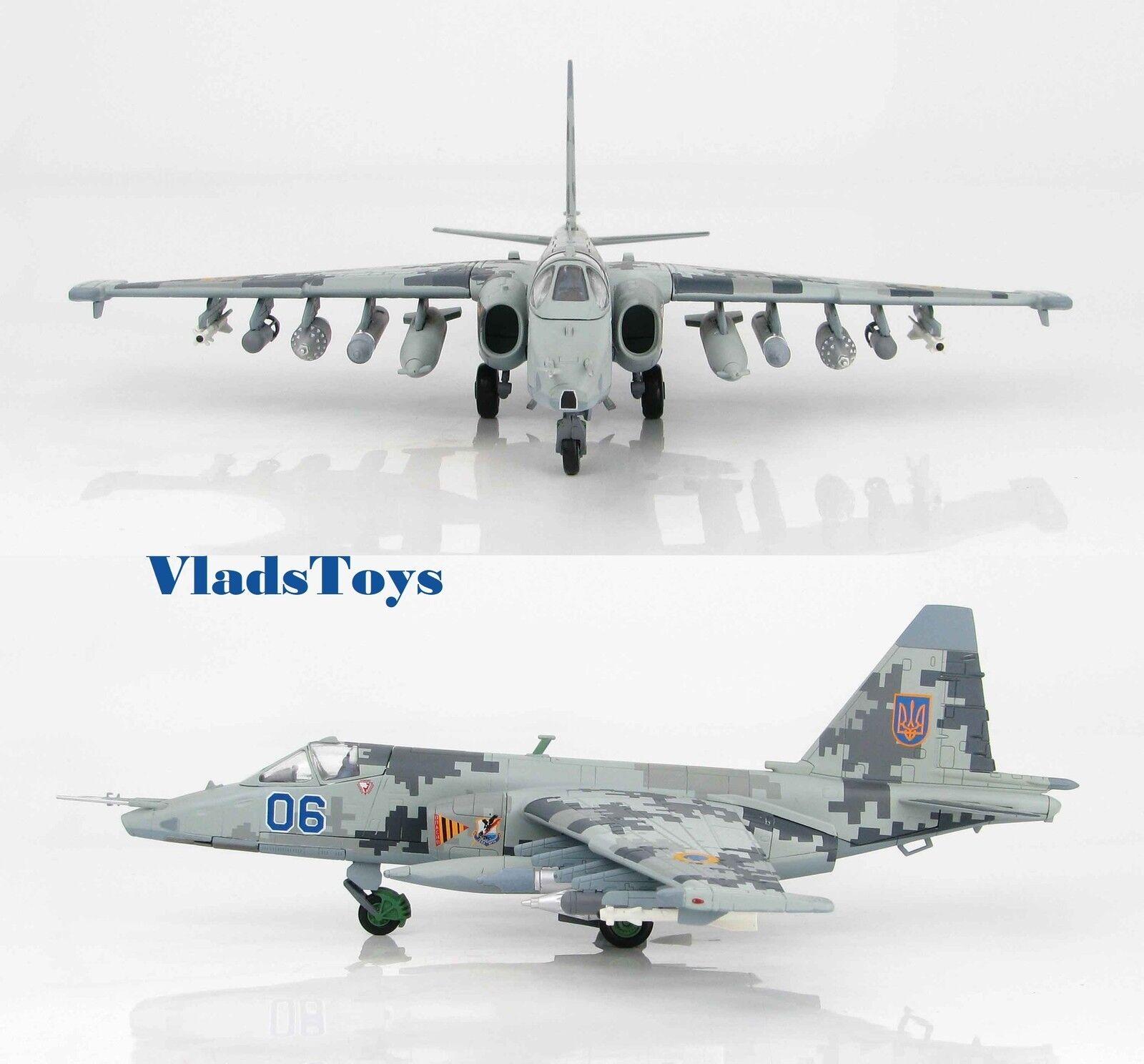 Hobby Master 1:72 Su-25SM Frogfoot ucraniano af 299th aviación Bgd Azul 6 HA6102