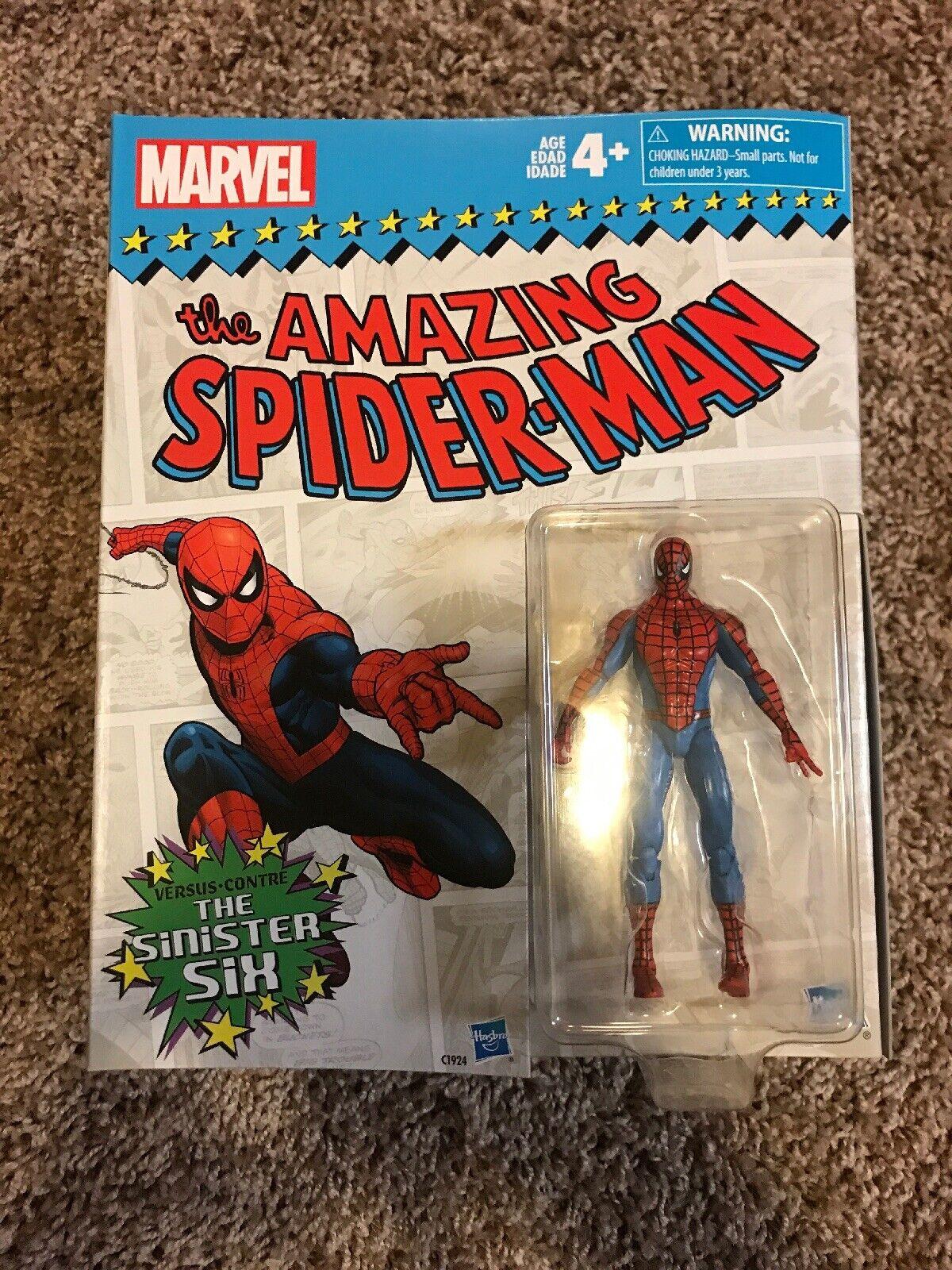 MARVEL LEGENDS 3.75  EXCLUSIVE SPIDER-MAN vs THE SINISTER SIX BOX SET