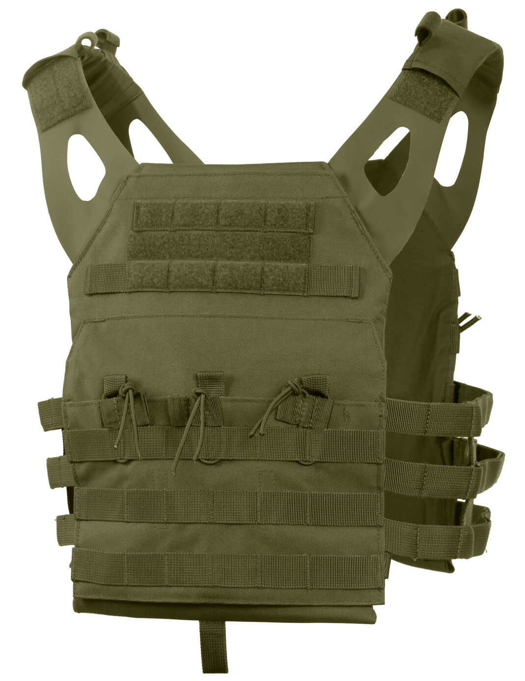 Tactical Light Weight Plate Carrier Vest Modular Olive Drab Molle redhco 55894