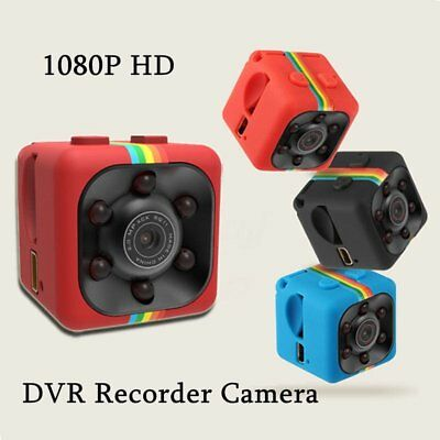 US SQ11 Full HD 1080P Mini Car Hidden DV DVR Camera Spy Dash Cam IR Night Vision