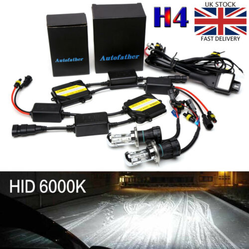AC CANBUS 55W H4 HB2 9003 BI-XENON HID 6000K HEADLIGHT KIT FOR VW TRANSPORTER T5