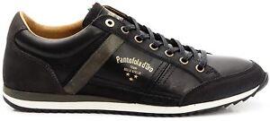 Scarpe-Sneakers-Pelle-Uomo-Pantofola-d-039-Oro-Shoes-Men-Matera-Low-nero-10183027