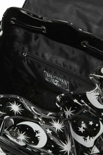 Killstar Under the Stars Moon Occult Gothic Punk Witch Black Backpack KSRA000958