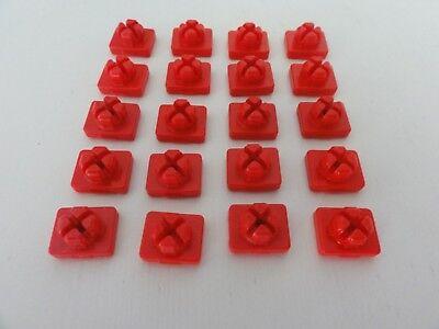playmobil set 20 red system X connectors//Steckverbinder//Συνδετήρες//Connecteurs