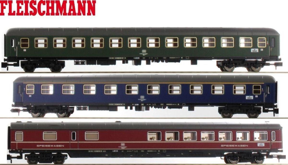 Fleischmann N 931781-S3 3-teilige Schnellzug-Wagengarnitur Set 931781 NEUWARE  | Hervorragende Eigenschaften