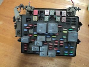 05 chevy silverado 1500 fuse relay box 15115615 ebay. Black Bedroom Furniture Sets. Home Design Ideas