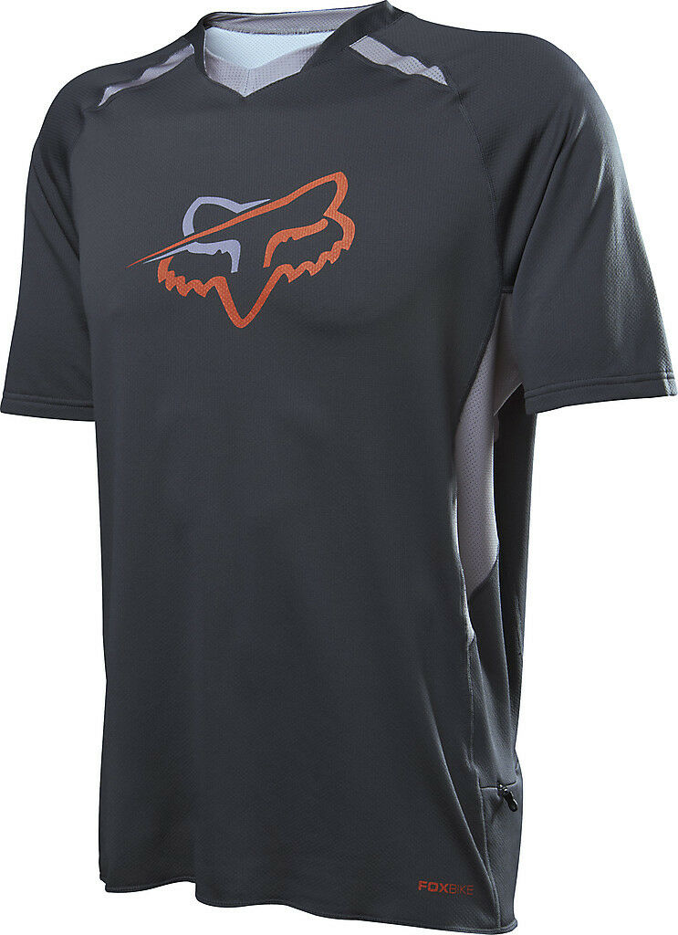 Fox Racing Tech Aircool s s Jersey Charcoal