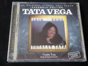 Tata-Vega-Totally-Vega-Expanded-Edition-SEALED-NEW-CD-2011-JERMAINE-JACKSON