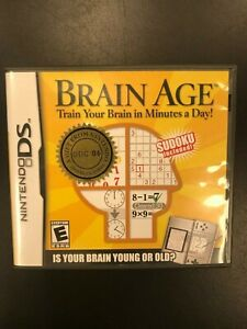 Brain-Age-GDC-06-DS-Gift-From-Nintendo-Complete-Not-For-Resale-CIB-Saturo-Iwata