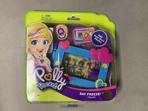 Frame by Mattel NEW Polly Pocket Say Freeze