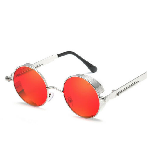 Unisex Retro Vintage Oval Round Glasses Fashion Sunglasses Shades Eyewear UV400