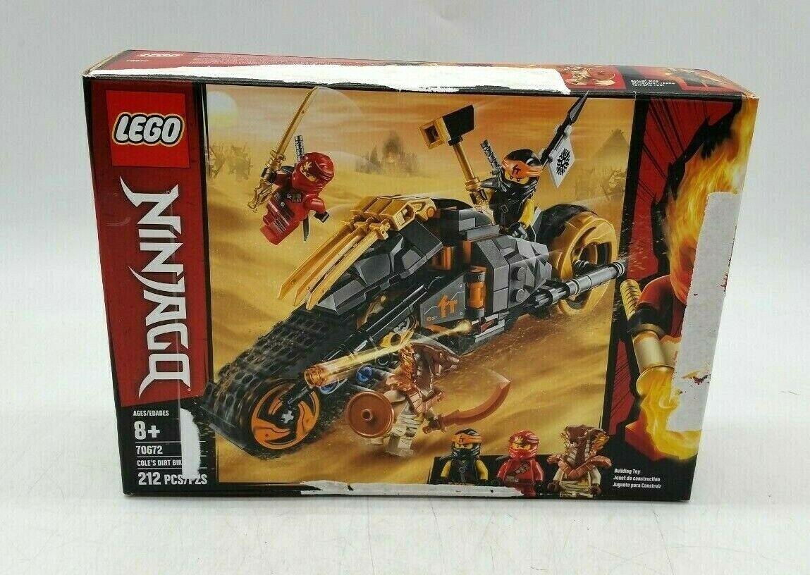 Brand New Sealed LEGO 70672 Ninjago Cole/'s Dirt Bike 212 pcs 8