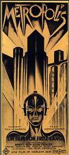 "012 Metropolis - Gustav Classic Germany Movie 24""x53"" Poster"