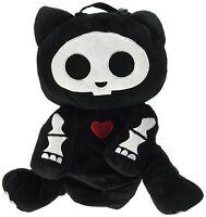 Skelanimals: Kit (cat) Deluxe Plush Backpack By Toynami