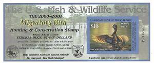 RW67A, $15 Mottled Duck - MNH, VF, DUCK Stamp Self-Adhesive Pane - Stuart Katz