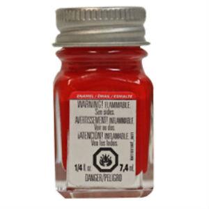 Testors-Red-gloss-enamel-1-4oz-model-paint-new-1103