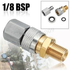PCP Air Gun Filling Charging Hose Quick Release Coupler 1//8 BSP female 2 male