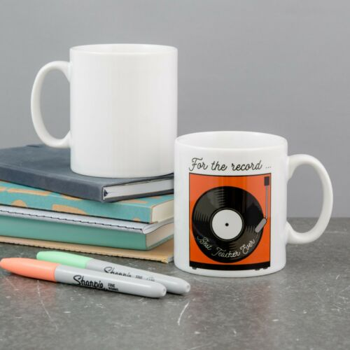 World/'s Best Music Teacher Gift Funny Present Personalised Teacher Gift Mug