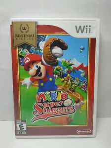 Mario-Super-Sluggers-Nintendo-Wii-2008-Selects-Complete-Tested-Party-Baseball