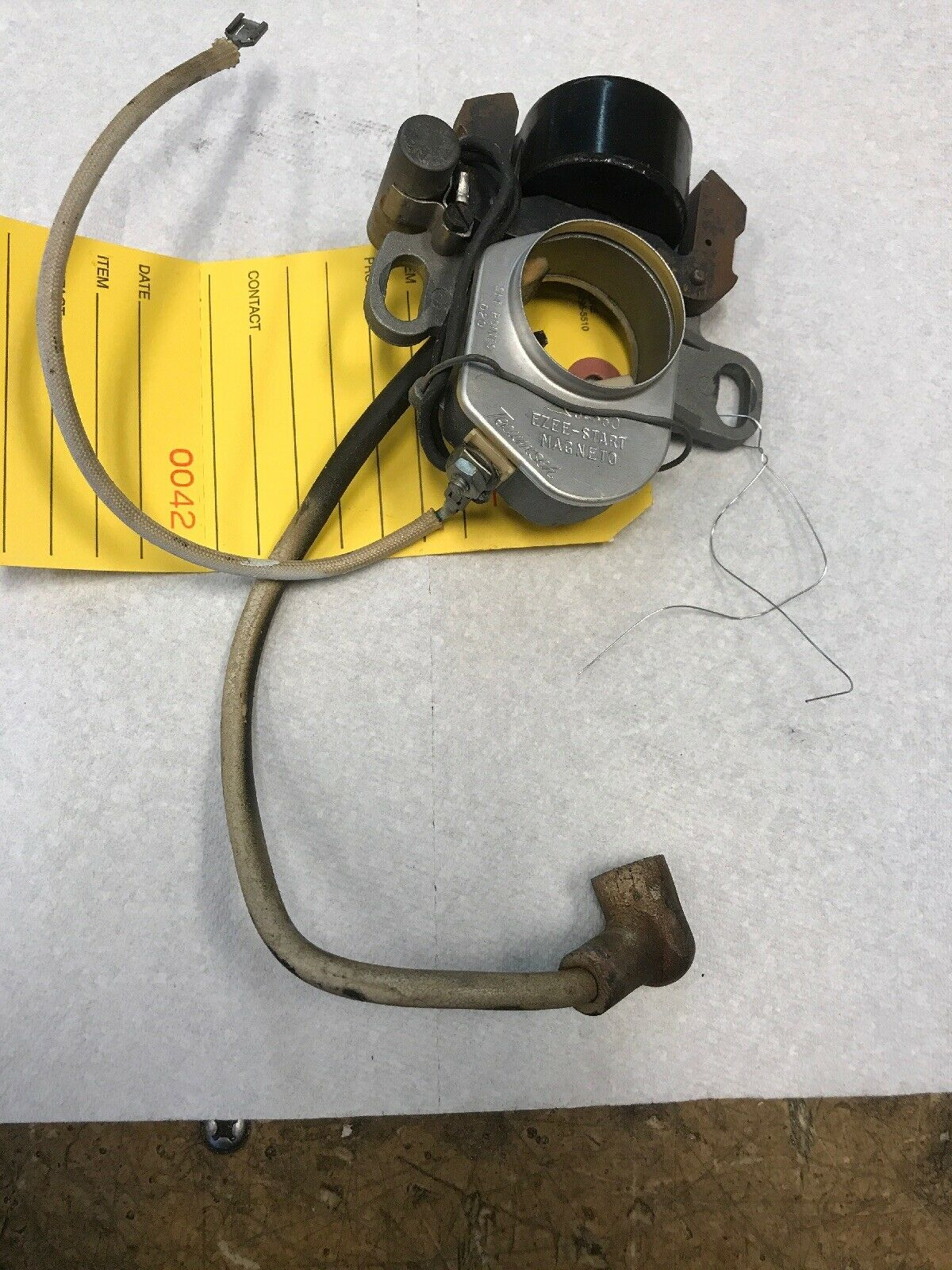 OEM NICE USED JIFFY COMPLETE TESTED ELECTRICAL IGNITION COIL,CONDENSER,POINTS