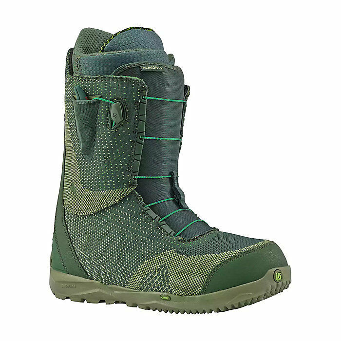 NEW BURTON MENS ALMIGHTY MULTIWEAVE SPEED LACE SNOWBOARD BOOTS SZ 8