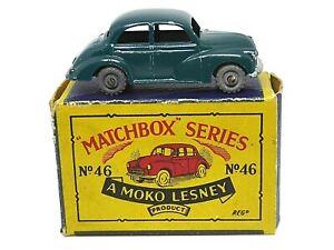 Matchbox-Lesney-No-46a-Morris-Minor-1000-039-B2-039-Serie-Moko-Caja-Unlisted-variante