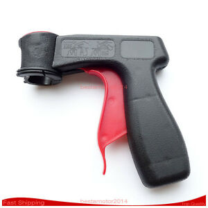 Red Trigger Can Gun Aerosol Spray Can Handle With Full