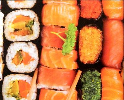 """Puzzlebug Jigsaw Puzzle : Sushi Selection : 500 pcs 18"""" x 11"""" Sushi Bar"""