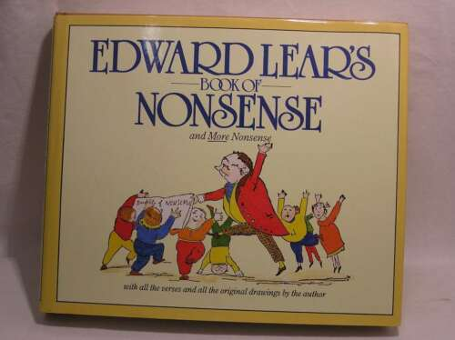 1 of 1 - A Book of Nonsense, Lear, Edward, Very Good Book