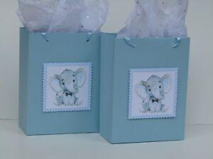 Details About 10 Baby Shower Favors It S A Boy Party Elephant Favor Bags