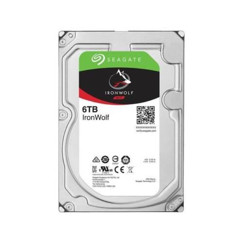 Seagate IronWolf NAS ST6000VN0041 6TB 7200RPM SATA 6.0 GB//s 128MB Hard Drive