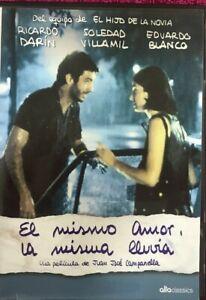 Il Stesso Amore, La Pioggia DVD Ricardo Darin Juan Jose Campanella Nuovo New