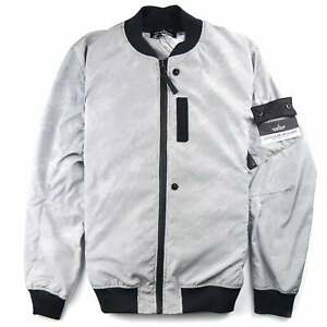 1c7722daa26907 Image is loading Stone-Island-Shadow-Project-Lenticular-Jacquard-Jacket -Silver-