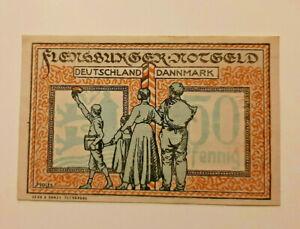 FLENSBURG-NOTGELD-50-PFENNIG-1920-NOTGELDSCHEIN-10994
