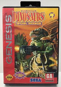 Tom-Mason-s-Dinosaurs-For-Hire-for-Sega-Genesis-Authentic-NTSC-Version-No-Manual