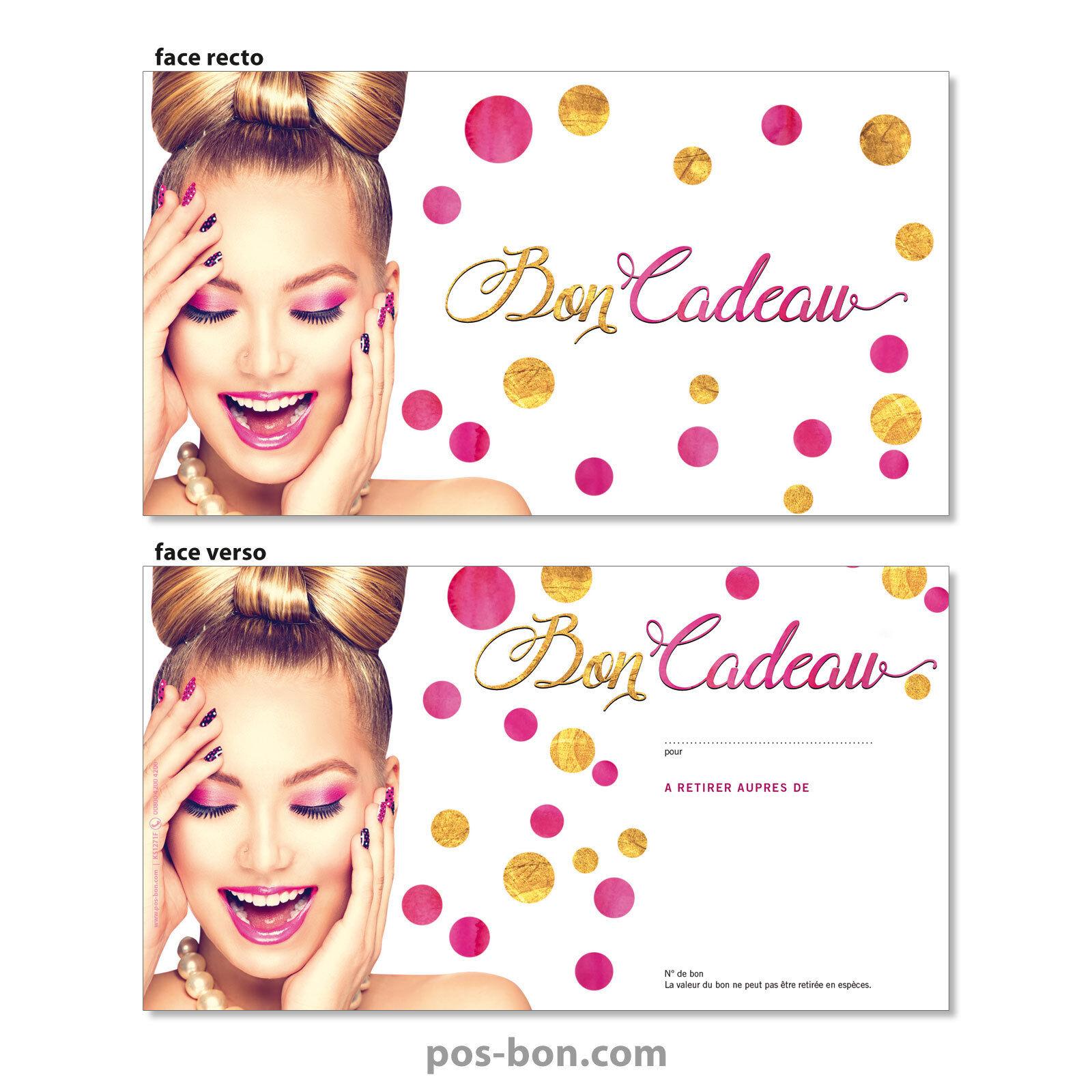 Bons cadeaux  enveloppes pour instituts de de de beauté et coiffeurs KS1271F | Elegant Und Würdevoll  | Neuartiges Design  bb1995