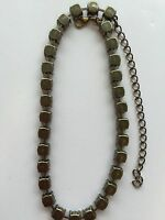 39ss Empty Cup Chain Necklace - Antique Brass -
