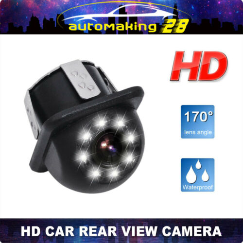 170° HD CCD IP68 Car Rear View Reverse Backup Auto Parking Camera Night Vision