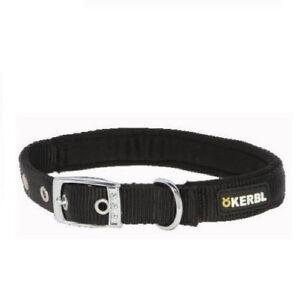 Collar-para-perros-de-nylon-con-herrajes-de-acero-KERBL-varios-tamanos-colores