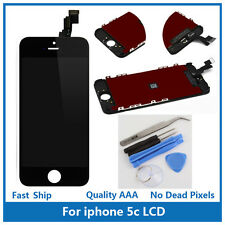 iPhone 5C Replacement Touch Screen LCD Digitizer Display Assembly Black + Tools